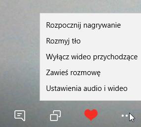 Wybrane opcje Skype